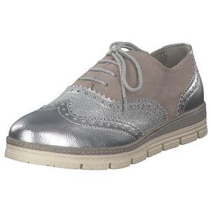 MARCO TOZZI Damen Schnürschuhe Grau Schuhe, Größe:41