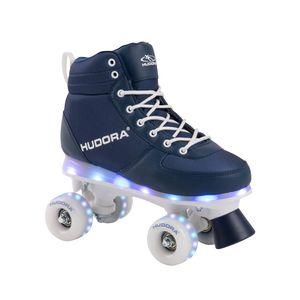 Hudora 13121 Roller Skates Advenced LED navy Gr.31