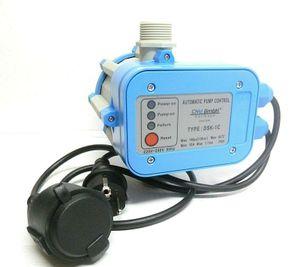 CHM GmbH® Pumpensteuerung einstellbar Druckschalter mit Trockenlaufschutz für Gartenpumpe