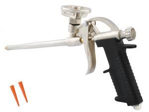 Bauschaum Pistole Dosierbar Metallkorpus Kunststoffgriff Leicht Praktisch #010