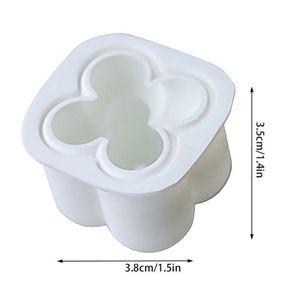 Silikon Gießformen Kerzengießform Kerzenform Kerze Form Mold 3D Kerzenformen, 3,5cmx3,8cm