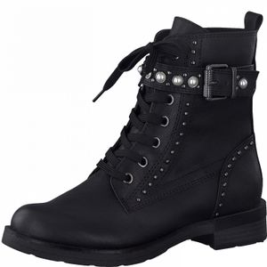 MARCO TOZZI Damen Stiefeletten Stiefel 2-25129-27, Größe:39 EU, Farbe:Schwarz
