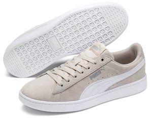 PUMA Vikky V2 Damen Low Sneaker Beige Schuhe, Größe:41