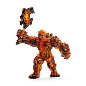 Schleich Eldrador Figur Sammelfigur Lava Golem mit Waffe 42447