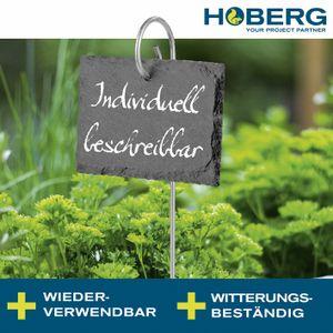 10 x Pflanzschilder Stecketiketten Schiefer Pflanzenetiketten Etiketten