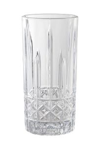 Cocktailgläser/Longdrinkgläser mit Kreuzmuster 360ml, Tumbler, Kristallgläser, 6-teiliges Set