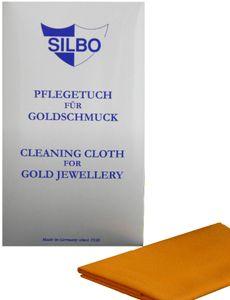 SILBO Pflegetuch für Goldschmuckspezialimprägniert 30x24cm