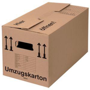 10 Umzugskartons Profi 2-wellig 40 kg Umzugskiste