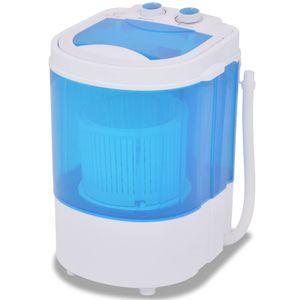 vidaXL Mini-Waschmaschine mit Schleuder und 1 Kammer 2,6 kg