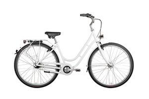 28 Zoll Alu VAUN Damen Fahrrad City Retro Bike Shimano Nexus Nabendynamo weiss