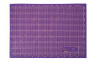Schneidematte 3-lagig und selbstheilend violett pink 45x60cm A2