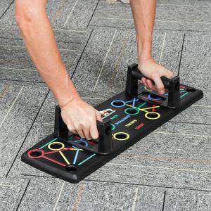 Halten Sie sich fit Push Up Strength Chest Board mit zwei Griffen Übungswerkzeugen