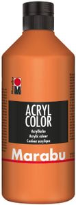 Marabu Acrylfarbe Acryl Color 500 ml orange 013