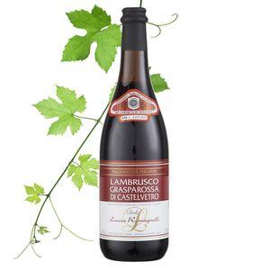 Lambrusco Grasparossa DOC - Perlwein lieblich 8,00% vol. 0,75 L