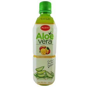 Getränk mit Aloe Vera Stückchen & Mango Geschmack 500ml inkl. 0,25€ Einwegpfand