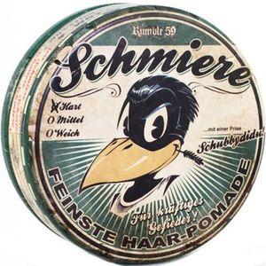 Rumble59 Schmiere hart, Hair Styling Pomade 140 g, hart