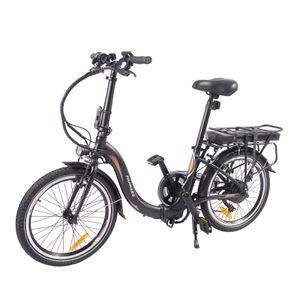 FAFREES 20F054  20 Zoll E-Bike Elektrofahrrad Fahrrad Electric Bike E-MTB Mountainbike Elektrofahrrad Citybike Elektrofahrrad mit LED Leucht Scheinwerfer 25km/h 250W 36V 10Ah