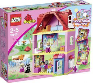 Lego Duplo 10505 Familienhaus Wohnhaus Mit 3 Etagen
