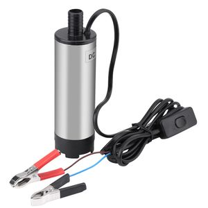 Tauchpumpe 12V 51mm 30 l/min Schmutzwasserpumpe Diesel Drucktauchpumpe Transferpump Wasserpumpe Edelstahl