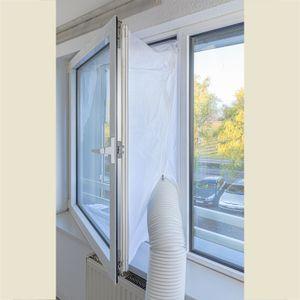 Fensterabdichtung Türabdichtung Fenster Dichtung für mobile Klimageräte ca. 4 m