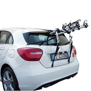 Fahrradträger Anhängerkupplung Fahrrad für 3 Räder, FABBRI BICI TORBOLINO 3 Heckfahrradträger