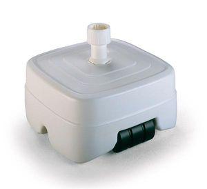 Sonnenschirmständer Best Freizeitmöbel füllbar 40 kg weiß Ø33-50mm