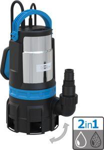 GÜDE Kombitauchpumpe Schmutzwasser Klarwasser Gartenpumpe GS 750.1 2in1 230V