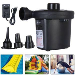 240v Elektrische Pumpe Pool Luftpumpe Luft Matratze Aufblasbares Pool Luftmatratze Elektropumpe 3 Ventil Adapter