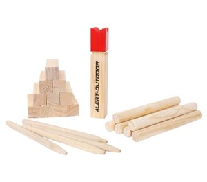 Alert Kubb  Wurfspiel aus Holz