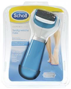 Scholl Velvet Smooth Express Pedi Diamond Hornhautentferner blau
