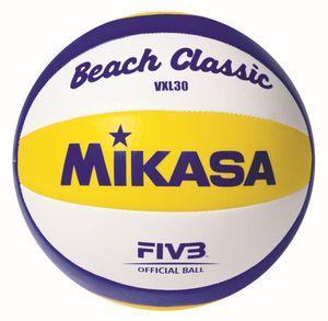 MIKASA BEACH CLASSIC VXL30 BLAU / GELB / WEIß 5