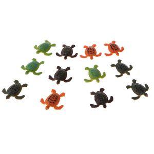 12 Stück Schildkröte Tiermodelle ,