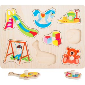 "Small Foot 10447 Setzpuzzle ""Spielzeug"", 8-teilig (1 Set)"