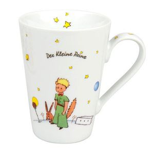 """Kaffeebecher """"Der kleine Prinz Geheimnis"""" Könitz Porzellan"""