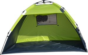 Explorer Automatik Strandmuschel XL UV 80+ Sonnenschutz Windschutz Strandzelt