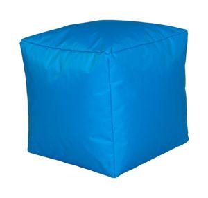 Sitzwürfel Sitzhocker Hocker Cube NYLON türkis 40 x 40 x 40 cm