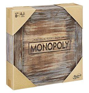Monopoly Holz Sonderedition Brettspiel Gesellschaftsspiel