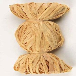 Naturbast Raffia-matt, natur, 50 g, Menge 10