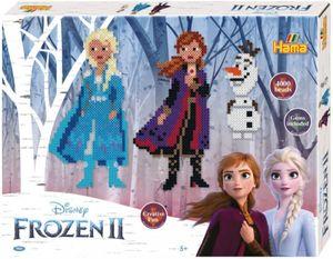 Hama 7921 Midi Bügelperlen Set Frozen II 2 Die Eiskönigin Anna Elsa Olaf Neu