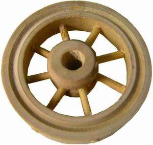 Krippenzubehör Holzrad Rad Wagenrad Durchmesser ca.5,5cm