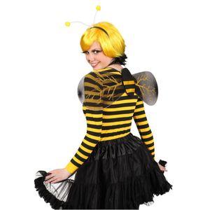 Zubehör zum Biene Kostüm Haarreif Flügel zu Karneval Fasching