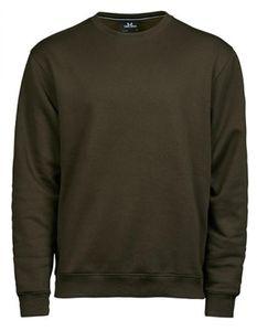 Heavy Sweatshirt / Pullover - Farbe: Dark Olive - Größe: XL