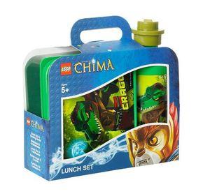 Lego 40591719 - LEGO® - Legends of Chima - Frühsstücksset mit Brotdose und Trinkflasche - Cragger