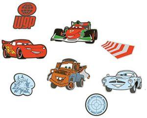 Decofun 23863 Cars - Mini Foam Elements 24-Stück