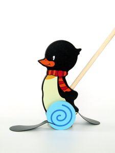 """Hess 14446 Schiebetier """"Pinguin Konrad"""" Watscheltier"""