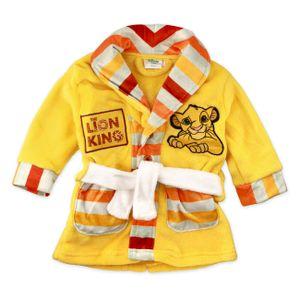 Kinder-Morgenmantel The Lion King 74698 Gelb 24 Monate