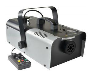 BeamZ Profi Nebelmaschine mit 1200W Leistung, 200m³ Nebelausstoß/Min (+5m Kabelfernbedienung, 5-10 Min Aufheizzeit)