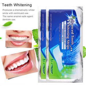 40 Stück Zahnweißstreifen Zahnaufhellungsstreifen Home Teeth Bleaching Intensive Fleckenentferner