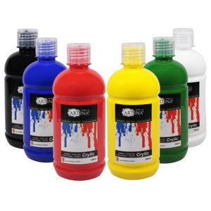 Artina Farbset Acrylfarbenset 6 x 500ml