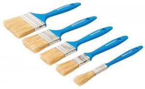 Silverline Pinsel Set Malerpinsel 5er Sortiment Farbpinsel